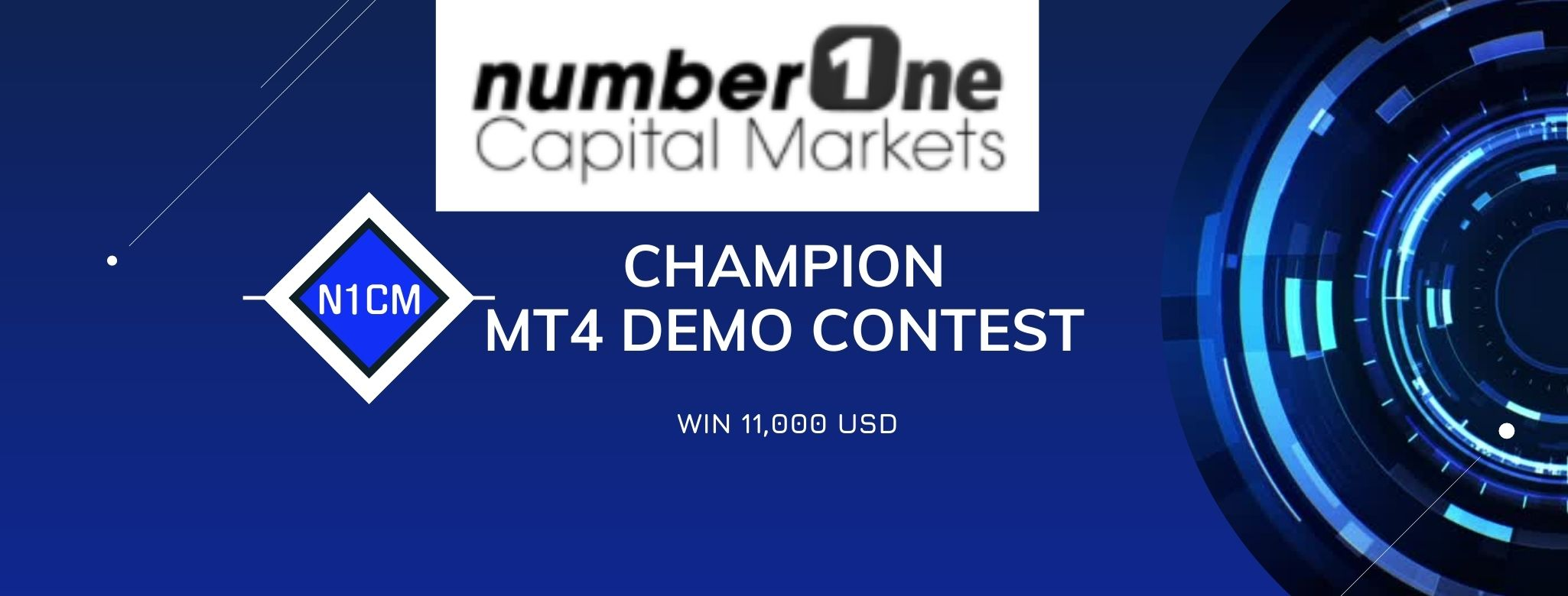 Win $5000 To Join Champion MT4 Demo Contest on N1CM