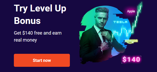 Free $140 Level up No Deposit Forex Bonus from FBS