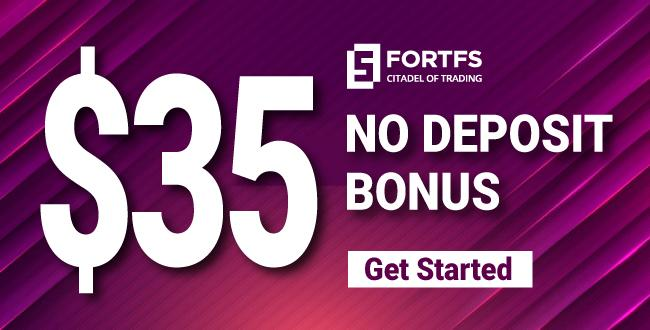Get Free $35 Forex Welcome Trading Bonus on FORTFS