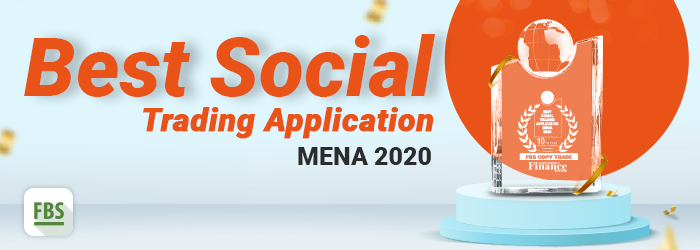 The FBS CopyTrade won the Best Social Trading Application MENA 2020.