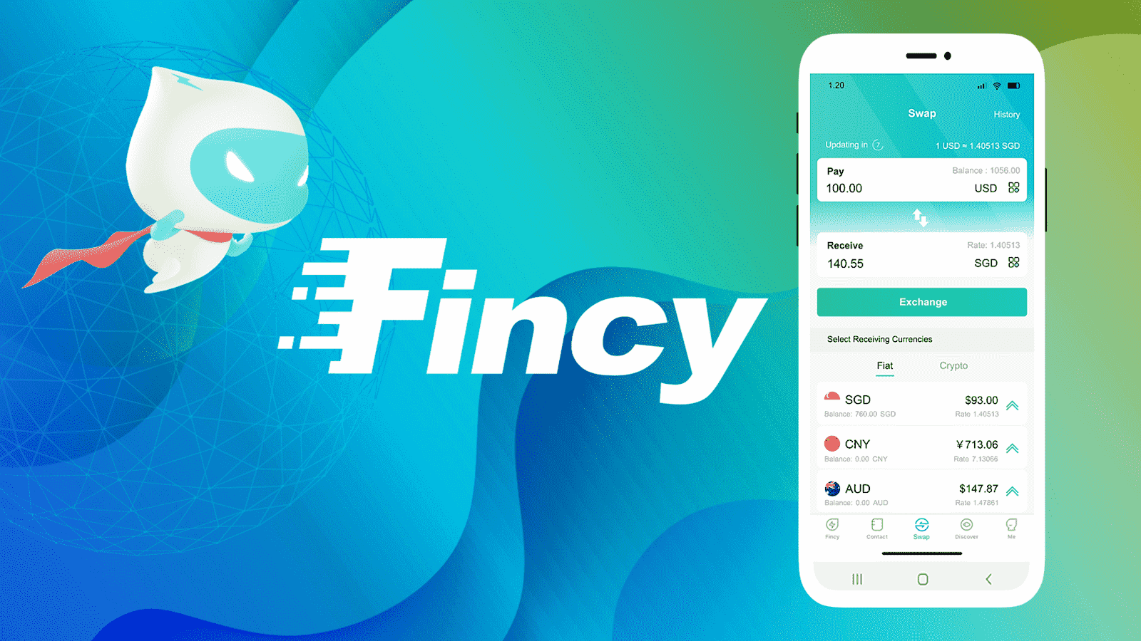 Singapore money app Fincy adds cryptocurrency support
