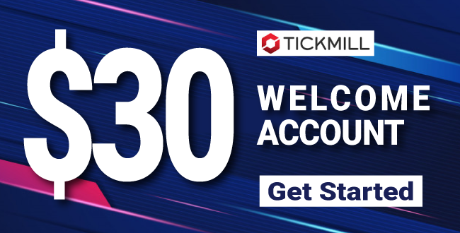 Take Extremely  Free $30 Forex Welcome No Deposit Bonus on Tickmill