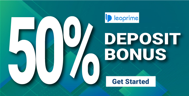 50% Forex Trading Bonus offer from LeoPrime