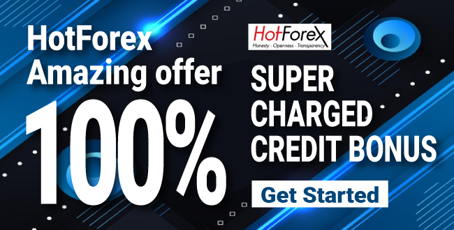 Take Amazing 100% Forex Super Charged Bonus on HotForex