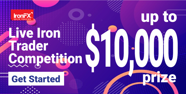 Get $10000 Cash Prize to Join Live Iron Trader Competition on IronFX