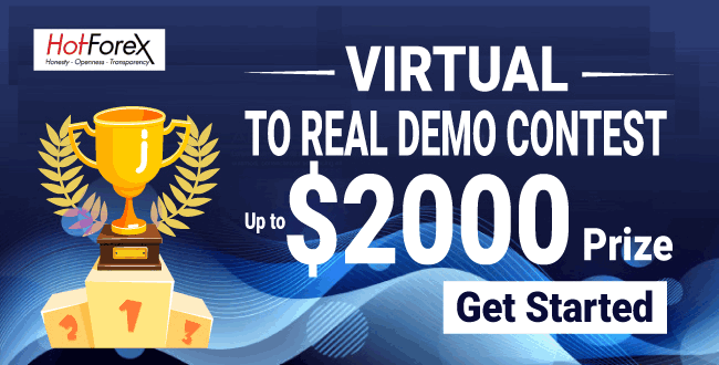 Win $2000 to Join in Virtual to Real Demo Contest on HotForex