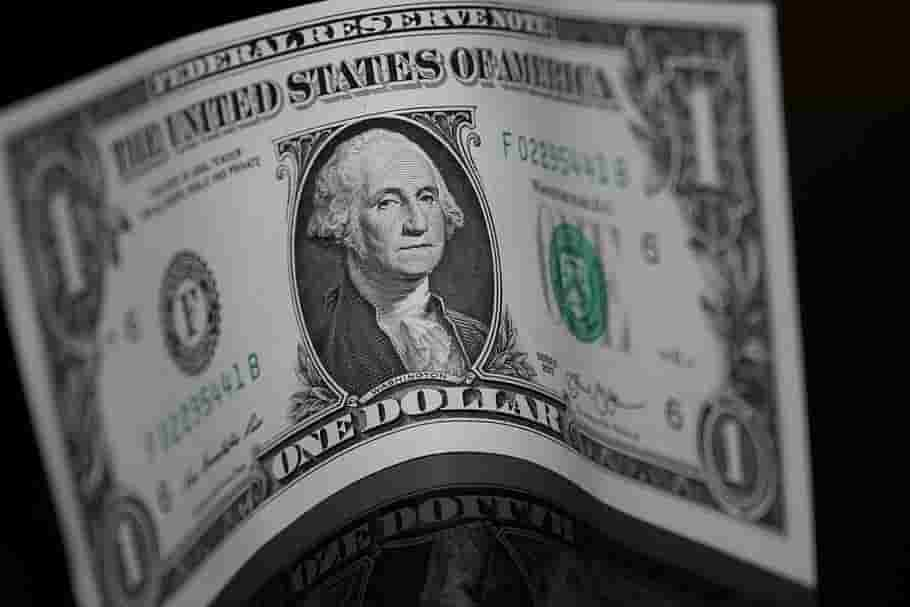Dollar trades near two-week low as US yields fall