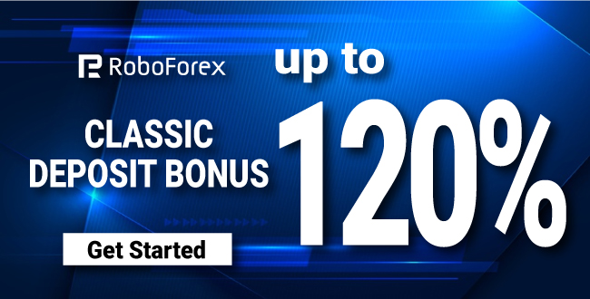 Get An Amazing offer in Forex Classic Bonus Up to 120% on RoboForex
