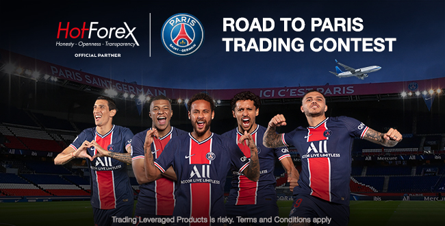 Starts the Road to Paris trading contest on HotForex