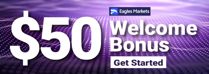 Get Free $50 Welcome Trading Bonus on Eagles Markets