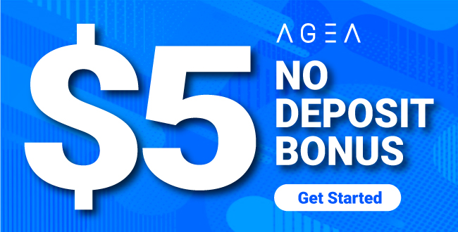 $5 Forex No Deposit Welcome Bonus Promotion from AGEA