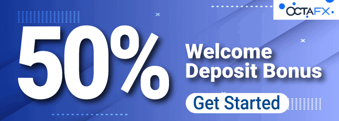 Take Incredible 50% Forex Welcome Deposit Bonus on OctaFX