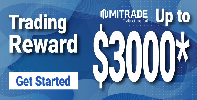 Get Incredible  promotion offer $500 Forex Trading Reward on MiTrade