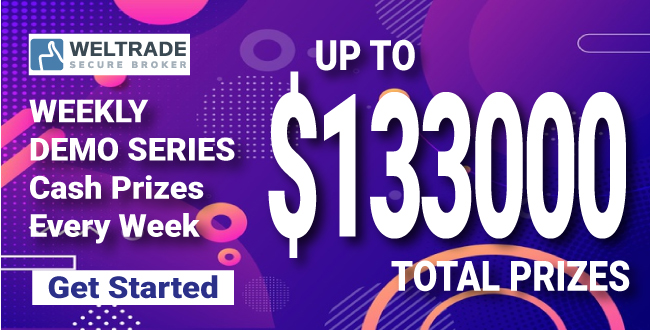 Get $133000 to Partake Demo Contest on Weltrade