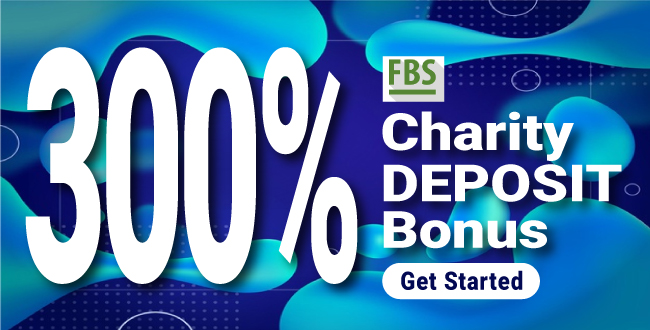 Receive 300% Trading Bonus Trade to Help Charity on FBS