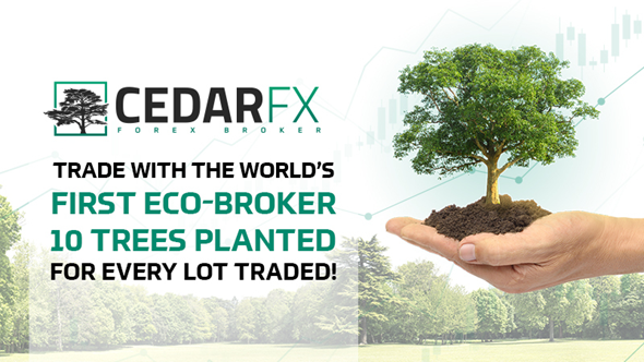 CedarFX Turns Over a New Leaf for Finance with an Eco-Account Offering