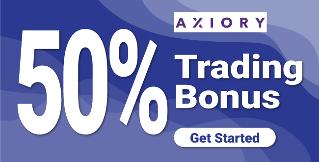 Trade with Axiory 50% Forex Deposit Bonus