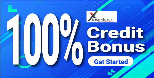 Receive 100% Forex Credit Bonus offer on XtreamForex