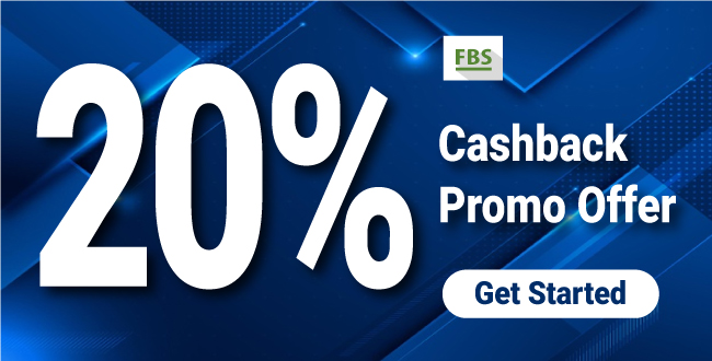 Amazing offer 20% Cashback Welcome Bonus on FBS