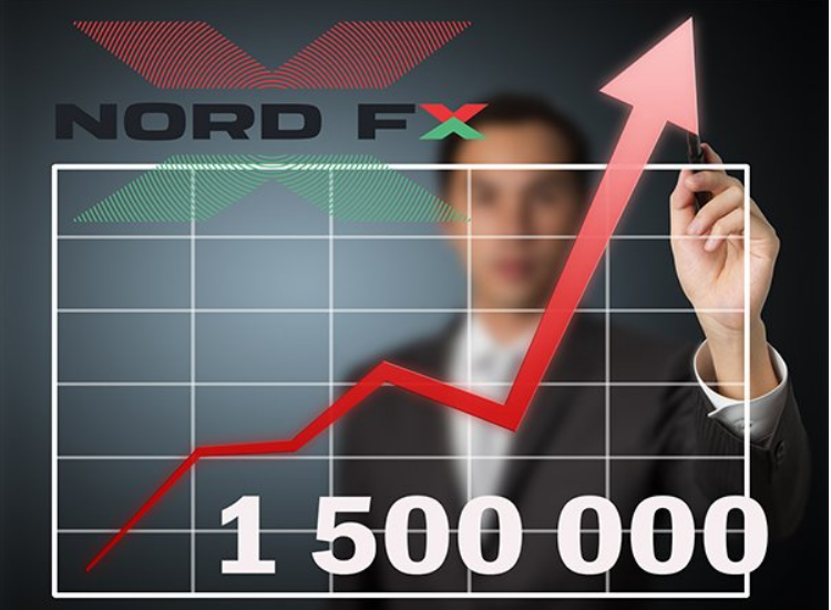 1.500.000 Exceed Number of Accounts Opened in NоrdFX