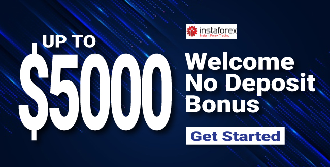 Take Free Up to $5000 Forex Welcome No Deposit Bonus on InstaForex