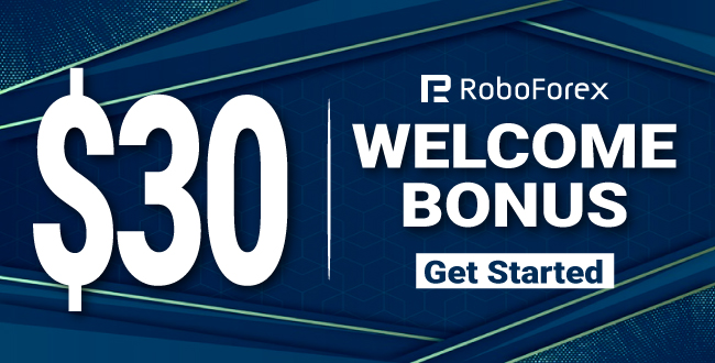 Receive Free $30 USD Forex Welcome Trading Bonus on RoboForex
