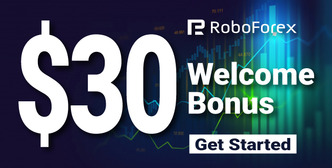 Get Free $30 USD Forex Welcome No Deposit Bonus on RoboForex