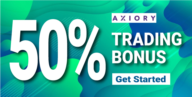 Obtain 50% Forex Welcome Deposit Trading Bonus on Axiory